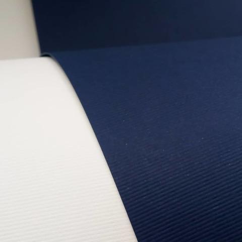 Бумага TWILL микровельвет, тёмно-синий