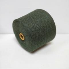 Lambswool, Шерсть ягненка 100%, Мусульманский зеленый (еловый зеленый меланж), 1/16, 1600 м в 100 г