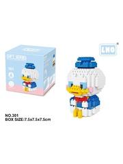 Конструктор Wisehawk & LNO Дональд Дак 270 деталей NO. 301 Donald Duck Gift Series