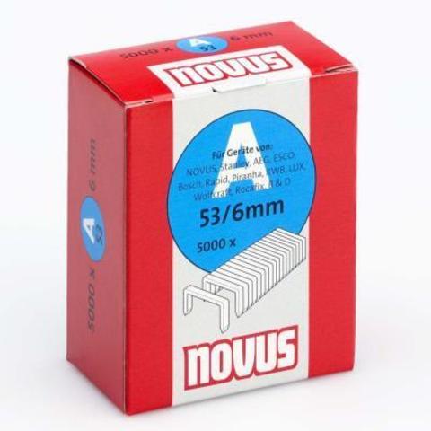 Скобы 53/6 NOVUS (5000шт)