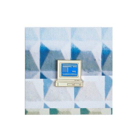 Значок металлический 90 Компьютер