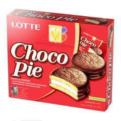 Пирожное Lotte Choco Pie 336 г (12 штук в упаковке)