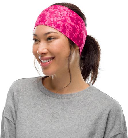 Повязка на голову спортивная Buff Headband CoolNet Oara Pink фото 2