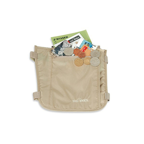 Картинка кошелек Tatonka Skin Secret Pocket natural - 3