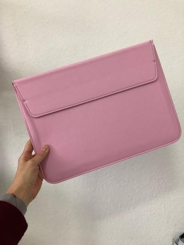 Папка конверт для MacBook PU sleeve bag 15'' /pink/