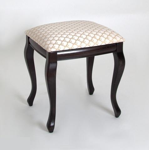 Банкетка-пуф Дионис деревянная с мягким сидением венге