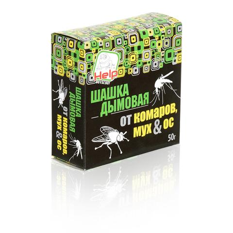 Шашка дымовая от комаров, мух и ос, инсектицидная, 50 г