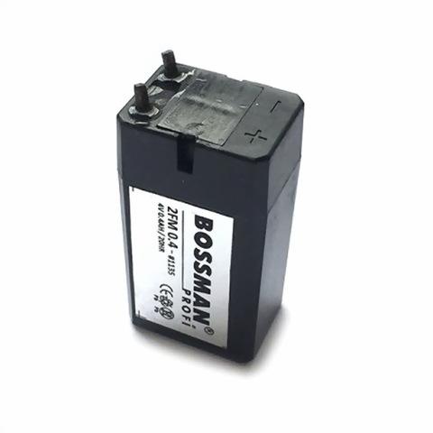 Аккумуляторы Bossman 4V 0.4A
