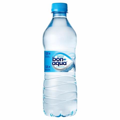 Вода питьевая BONAQUA б/газ 0,5 л пл/б КАЗАХСТАН