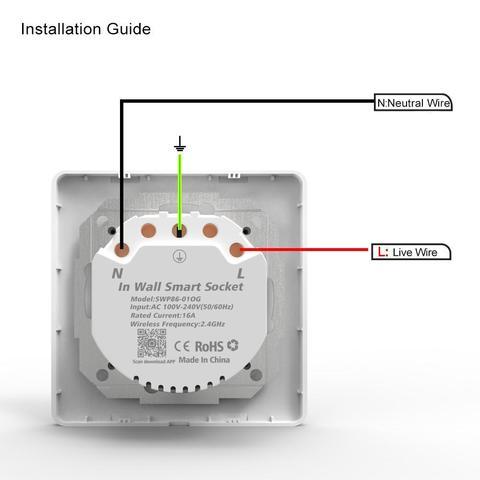 Умная Wi-Fi розетка Axper S1