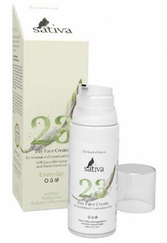Sativa Крем для лица дневной №23 для нормального и комбинированного типа кожи 50 мл