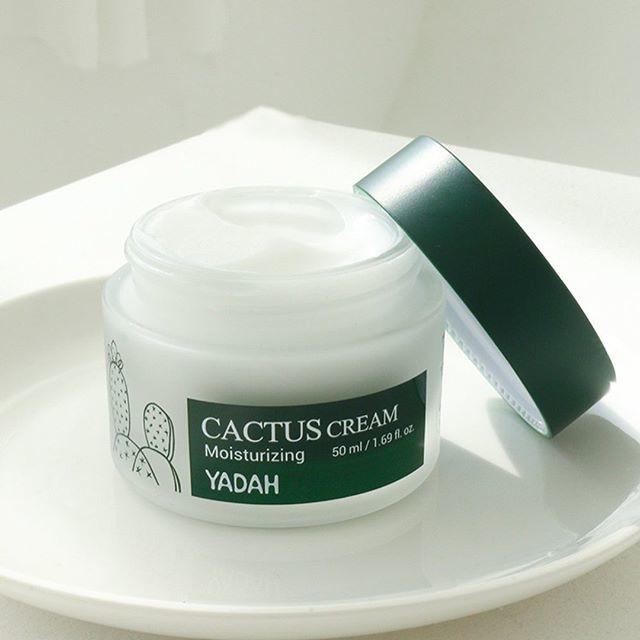 Крем для лица Yadah Cactus Cream Moisturizing 50 мл