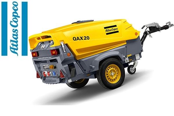 Дизельная электростанция (генератор) Atlas Copco QAX 20