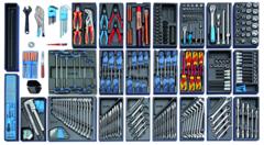 Тележка 1504 с набором инструментов 325шт | Gedoretools.ru