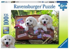 Puzzle Traveling Pups            100pcs
