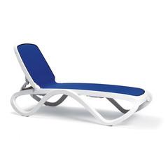 Шезлонг пластиковый Nardi Omega blue
