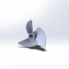 Naviga 30 mm props 1430/3 polished Doctorprops