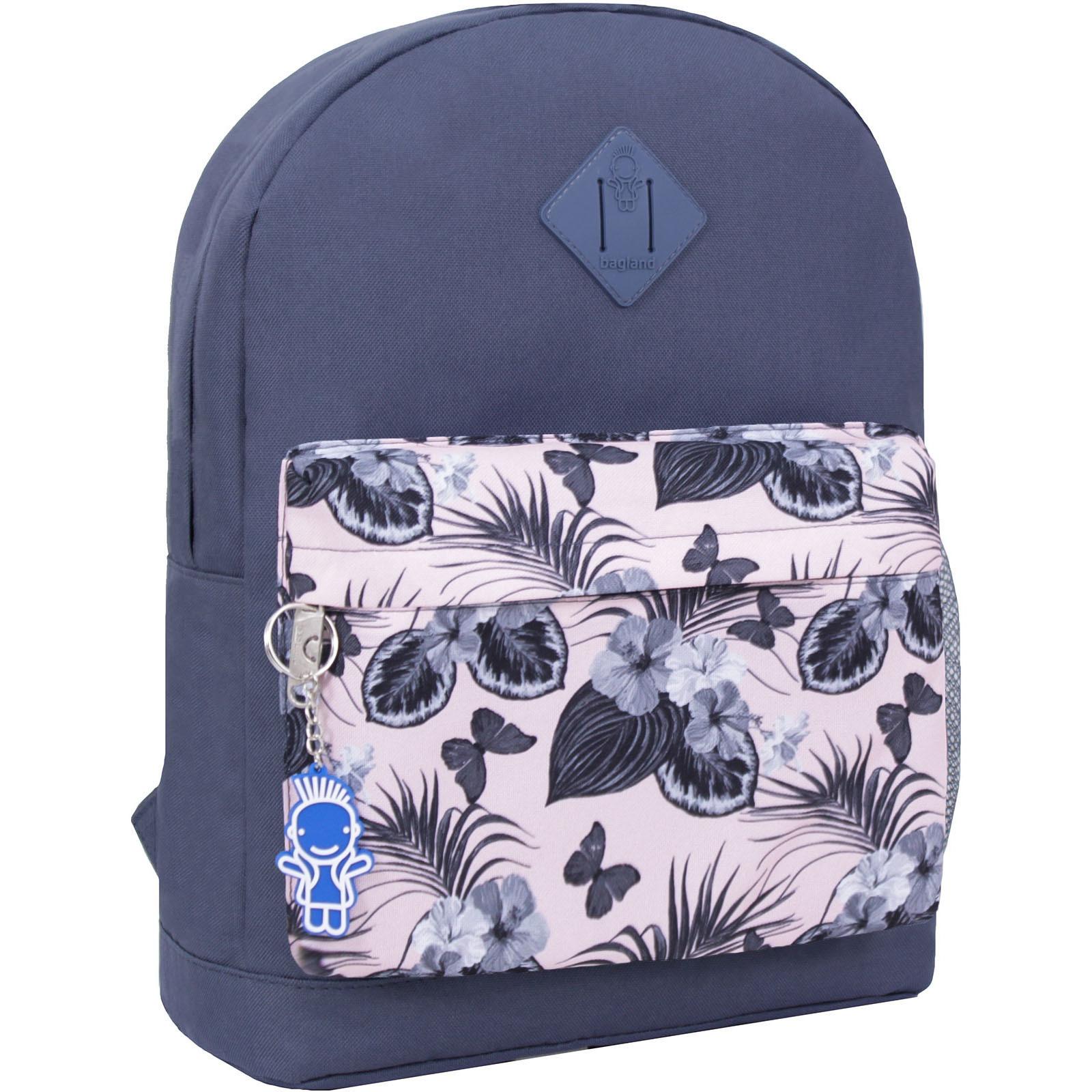 Городские рюкзаки Рюкзак Bagland Молодежный W/R 17 л. серый 458 (00533662) IMG_2563_458_-1600.jpg