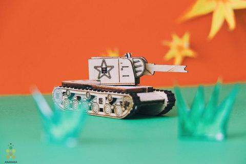 Танк Unit КВ-2 (UNIWOOD)