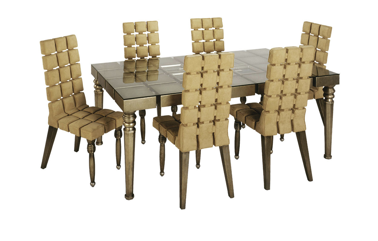 ART-2876-DT6A Стол обеденный(без стекла)166х109х76