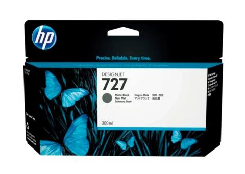 Оригинальный картридж струйный HP C1Q12A (727), чёрный матовый