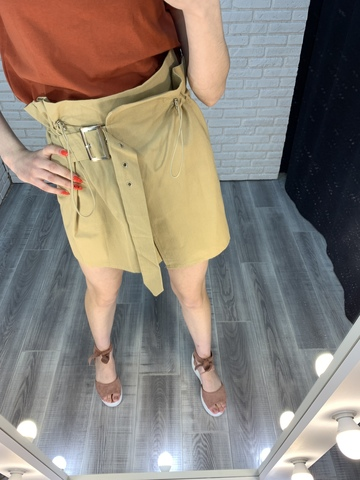 юбка с ремнем на талии nadya