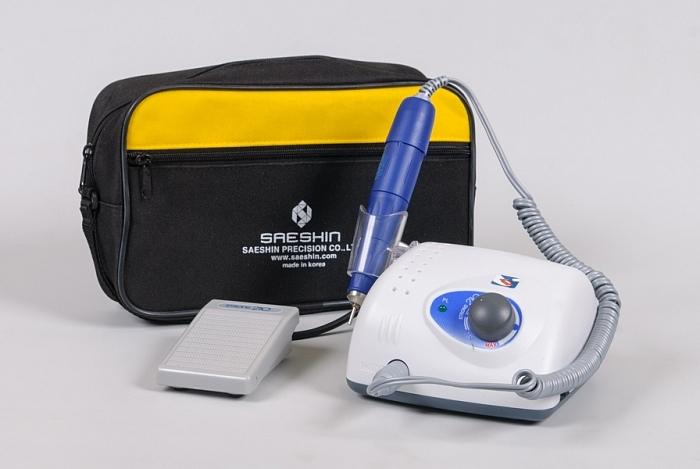 Аппарат для маникюра и педикюра STRONG 210/105L (с педалью в сумке)