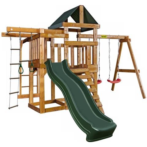 Babygarden Play 8 зеленый - игровая площадка BG-PKG-BG24-DG