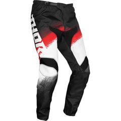 Штаны для мотокросса Thor Sector Vapor Черно-Красные Размер 34