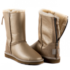 UGG Zip Soft Gold