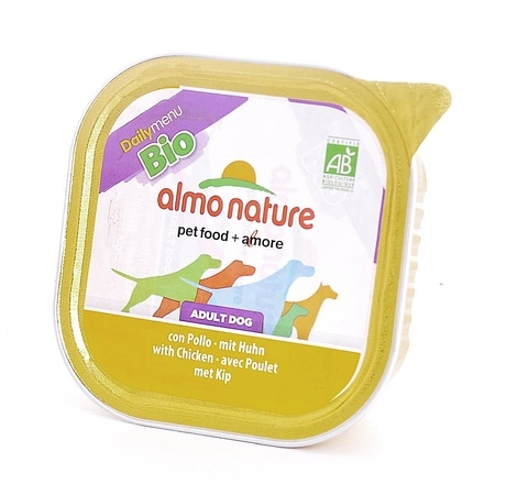 Консервы (ламистер) Almo Nature Daily Menu Bio - Pate Chicken