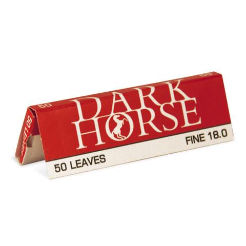 БУМАГА для самокруток DARK HORSE REGULAR SIZE FINE пач/50