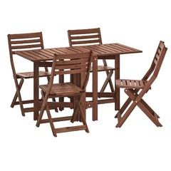 Комплект садовый складной стол и 4 стула Bergen