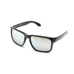Очки солнцезащитные 2K S-14009-E (чёрный глянец / серебристый revo)