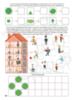 Рабочая тетрадь № 6 для детей 4-5 лет «Учимся считать». Маркер в комплекте (зелёный)