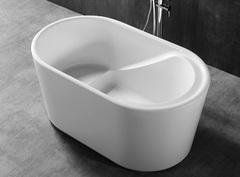Акриловая ванна ABBER AB9277 130х75 см отдельностоящая