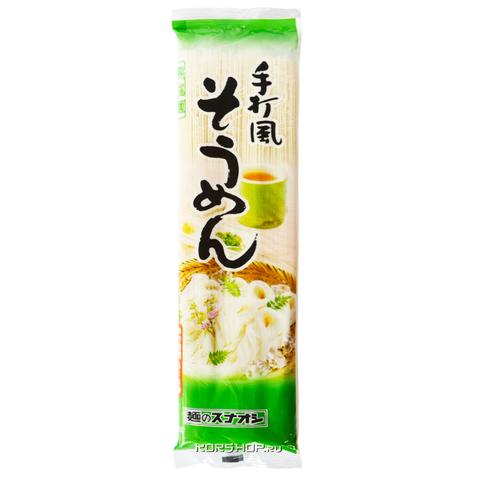 Пшеничная лапша Sunaoshi Сомен 200 гр