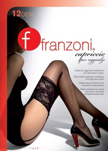 Franzoni Capriccio 12 reg. чулки под пояс