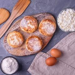 Сырники без глютена и без сахара / 500 г