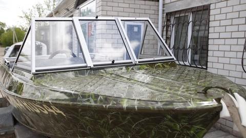 Ветровое стекло «Премиум-А» для лодки «Крым (до 1990 г.в.)»