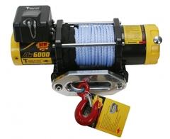 Лебедка T-max ATW-6000 синтетический трос