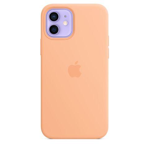 Чехол iPhone 12 Pro Silicone Case  /cantaloupe/