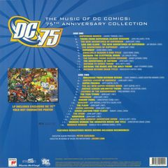 Виниловая пластинка. The Music Of DC Comics: 75th Anniversary Collection (Blue Vinyl)