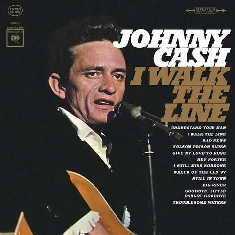 Виниловая пластинка. Johnny Cash - I Walk The Line: Greatest Hits (1965)