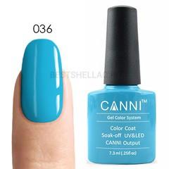 Canni, Гель-лак № 036, 7,3 мл