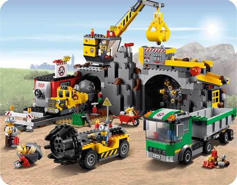 LEGO City: Шахта 4204 — The Mine — Лего Сити Город