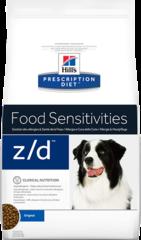 Ветеринарный корм для собак Hill`s Prescription Diet z/d Food Sensitivities, при пищевой аллергии