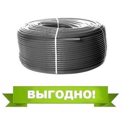 Труба из сшитого полиэтилена STOUT - 32x4,4 (PE-Xa/EVOH, PN10, Tmax 95°C, цвет серый, отрезок 4м)