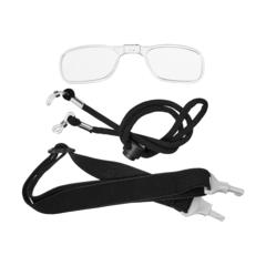 Дополнительные аксессуары: оправа для диоптрических линз, страховочный шнурок, эластичная регулируемая лента с коннекторами для крепления к очкам.я