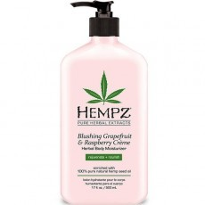 Hempz - Уход для тела: Молочко для тела увлажняющее Грейпфрут и Малина (Blushing Grapefruit & Raspberry Moisturizer), 500мл